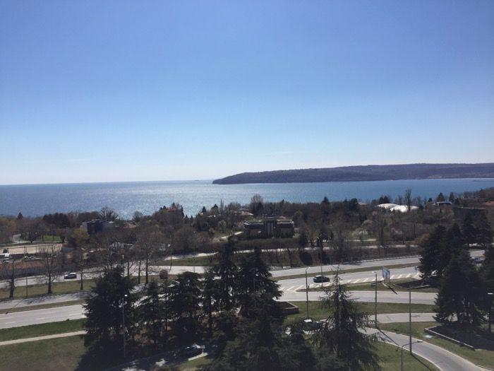 Гледка от жилищен комплекс Симфония