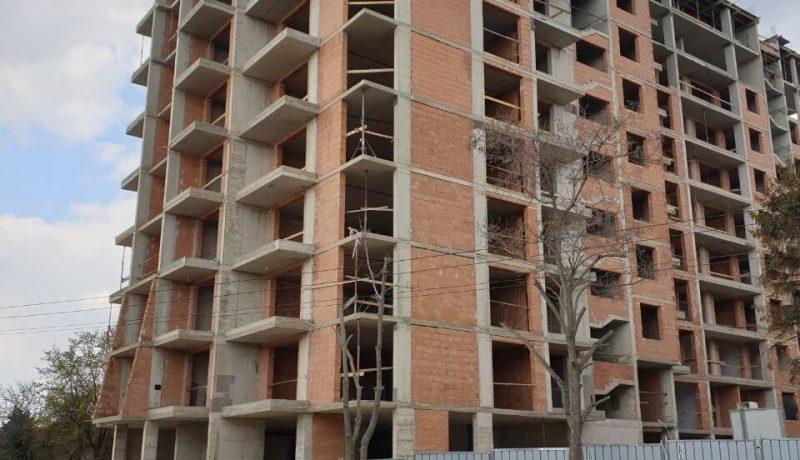 """Изграден 11-ти етаж на жилищен комплекс """"Симфония"""" - апартаменти Варна"""