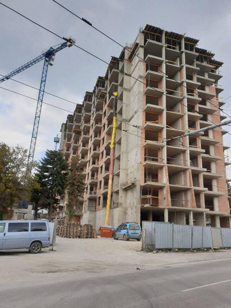 """Изграден 11-ти етаж на жилищен комплекс """"Симфония"""""""