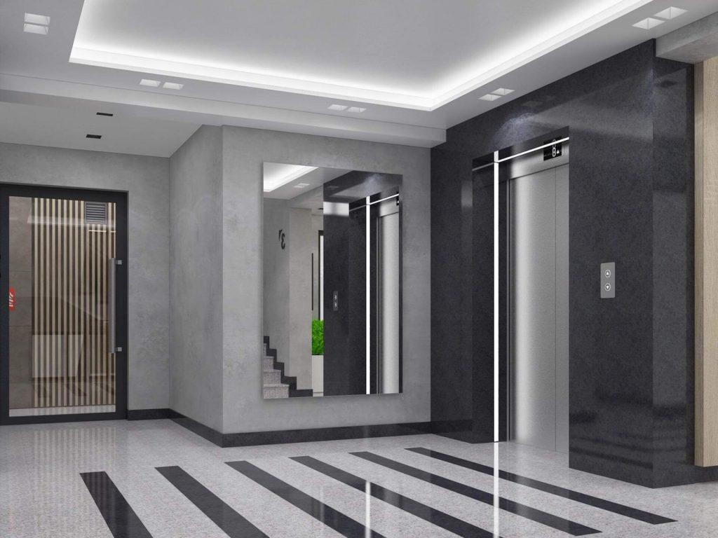 Интериор на жилищен комплекс Симфония - асансьор